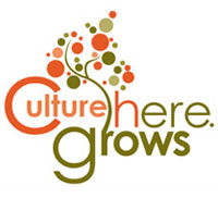 Culture Grows Here logo