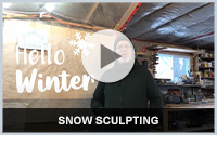 video thumbnail: Snow Sculpting with Siggi Buhler