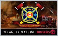 Catch Clear To Respond: Barrie Fire And Emergency Service - only on RogersTV