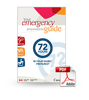 Download the 72 Hour Emergency Preparedness Guide