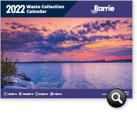 Download the current Community Information & Waste Reduction Calendar
