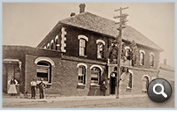 Thumbnail: Railroad Hotel (aka Clifton Hotel), c. 1900