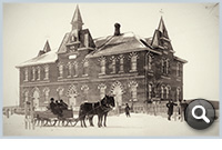 Thumbnail: West Ward School, 1876