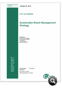 Sustainable Waste Management Strategy Report