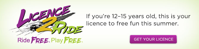 Licence 2 Ride