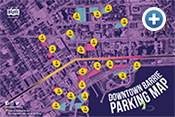 BIA parking map