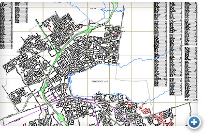 Enlarge Barrie Street Map