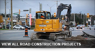 button: View All Road Construction Projects