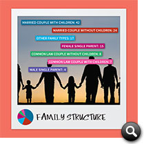 Barrie 2014 Statistics: Family Structure