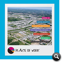 Barrie 2014 Statistics: Geographic Place of Work