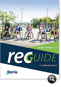 View Recreation Guide online