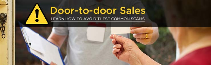Beware of Door-to-Door Sales
