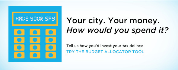 Take the challenge: How would you spend your tax dollars?