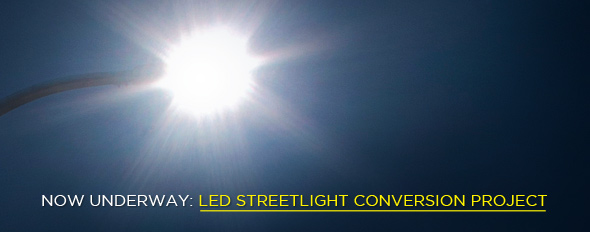 LED Streetlight Conversion Project