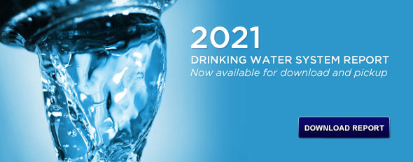 Annual Water Report available