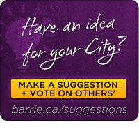 Make a Suggestion to your City