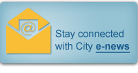 sign up to receive City e-news