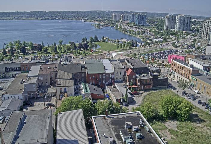 City of Barrie LIVE web cam courtesy of the City of Barrie